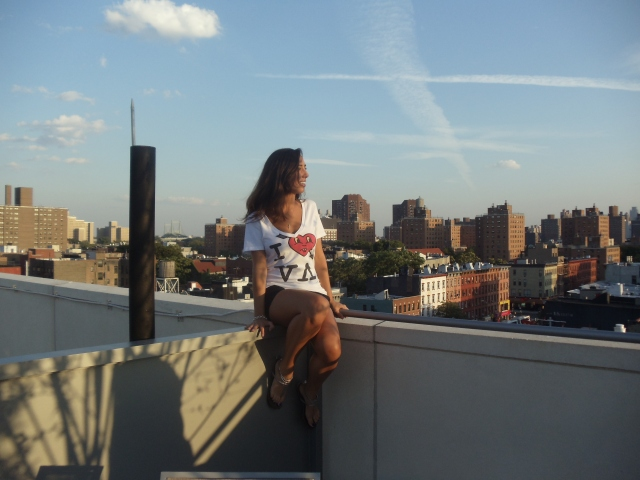 Overlooking Spanish Harlem