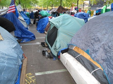 OWS tents 11/6/11